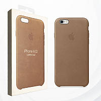 Чехол для iPhone 6/6s Apple Leather Case Brown (MKXR2ZM/A)