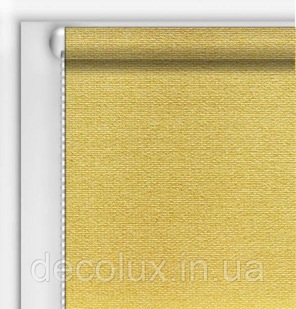 Рулонная Штора Люминис Песок (солнце отражающий экран)