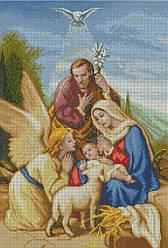 Схема для вишивки та вишивання бісером Бисерок «Різдво Христове» (В1) 70x100 (ЧВ-9000 (10))