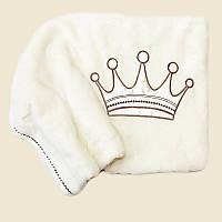 Плед одеяло для новорожденного в роддом для прогулок