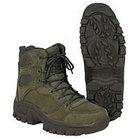 """Ботинки р.42 с высоким берцем MFH """"Commando"""" тёмно-зелёные 18823B"""