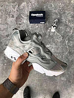 Кроссовки Reebok insta pump fury OG Grey. Живое фото (Реплика ААА+) ce871cf6610b3