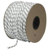 [50м] Верёвка статическая высокопрочная 5мм Sinew Hard белая