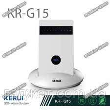 GSM сигнализация KERUI G15 , Security Alarm System, РУССКОЕ меню.