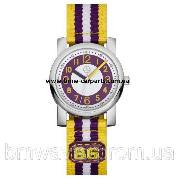 Детские наручные часы Mercedes-Benz Boys' Watch, Purple/Yellow, фото 2
