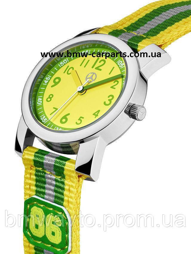 Детские наручные часы Mercedes-Benz Boys' Watch, Green/Yellow, фото 2