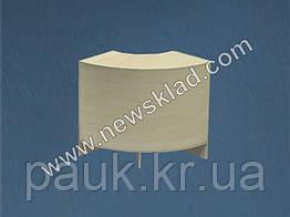 Торговый прилавок угловой из ламинированного ДСП (без цоколя) РН 1