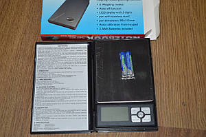 Ювелірні ваги Notebook Series Digital Scale 1108-5 , 0.01-500г