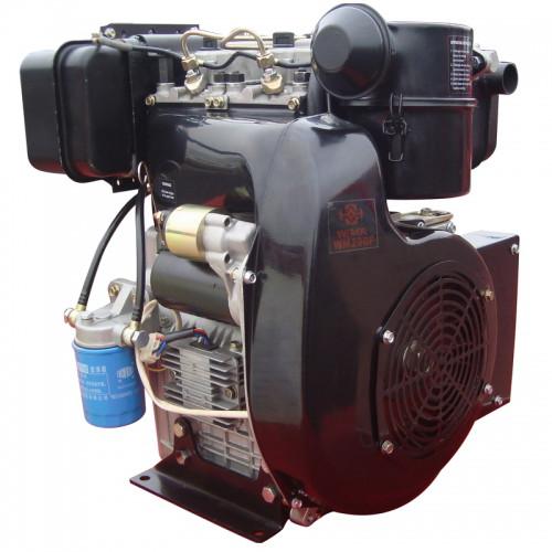 Двигатель дизельный WEIMA WM290FE (20 л.с.,2 цилиндра, электростартер, вал 25мм, шпонка)