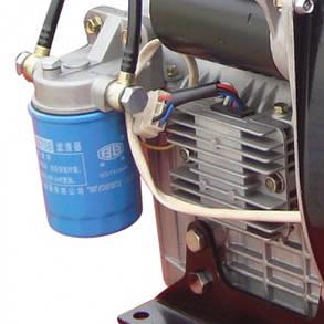 Двигатель дизельный WEIMA WM290FE (20 л.с.,2 цилиндра, электростартер, вал 25мм, шпонка), фото 2