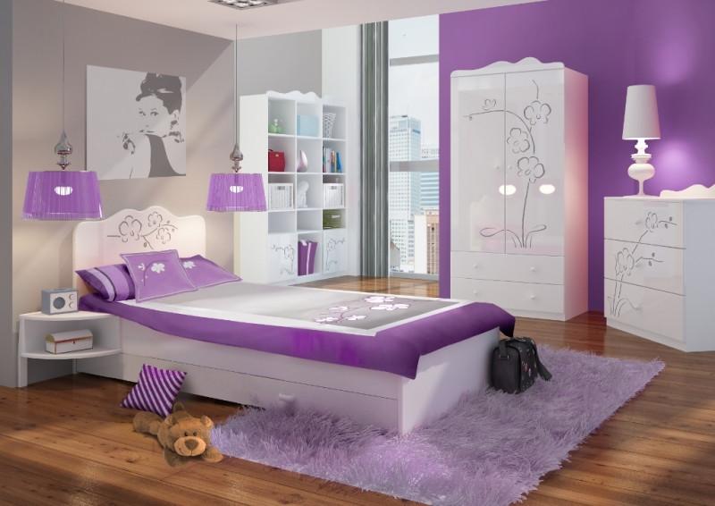 """Комплект мебели для девочек  """"Орхидея Серебро"""""""