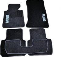 Коврики в салон ворс BMW 3 (Е46) (1998-2006) /Чёрные, кт 5шт