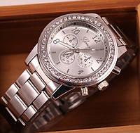 Роскошные женские наручные часы GENEVA Женева сталь