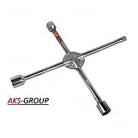 Ключ крест усиленный хромированный CRV 17x19x21, 14х14мм  ST-11-4  Elegant EL 102 812