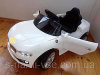Детский электромобиль BMW KX 802, Амортизаторы, два мотора, два аккумулятора, дитячий електромобіль, белый