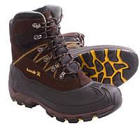 Ботинки мужские зимние для охоты и рыбалки Snowcavern Kamik -40° водонепроницаемые / утепленные