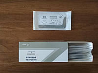 ПДО (Аналог ПДС) USP 3/0 с колющей иглой 3/8 30мм