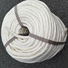 Фал капроновый плетёный полиамидный Ø 6 мм (ГродноХим)