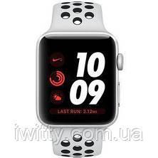 Watch Nike+ Series 3 GPS 42mm Silver Aluminum with Pure Platinum/BlackSport Band (MQL32), фото 2