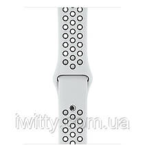 Watch Nike+ Series 3 GPS 42mm Silver Aluminum with Pure Platinum/BlackSport Band (MQL32), фото 3