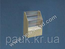 Торговая витрина стеклянная с цоколем ВС2