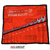 Набор ключей рожково-накидных 12 шт. 6-22 мм  ST-27  Elegant EL 102 831
