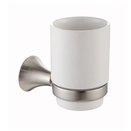 Керамический стакан для зубных щеток Amnis KEA-11104BN