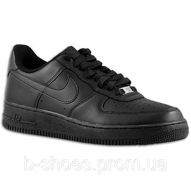 Мужские кроссовки Nike Air Force 1 Low (Black)
