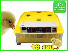 Инкубатор автоматический инвекторный для яиц MS-48/24