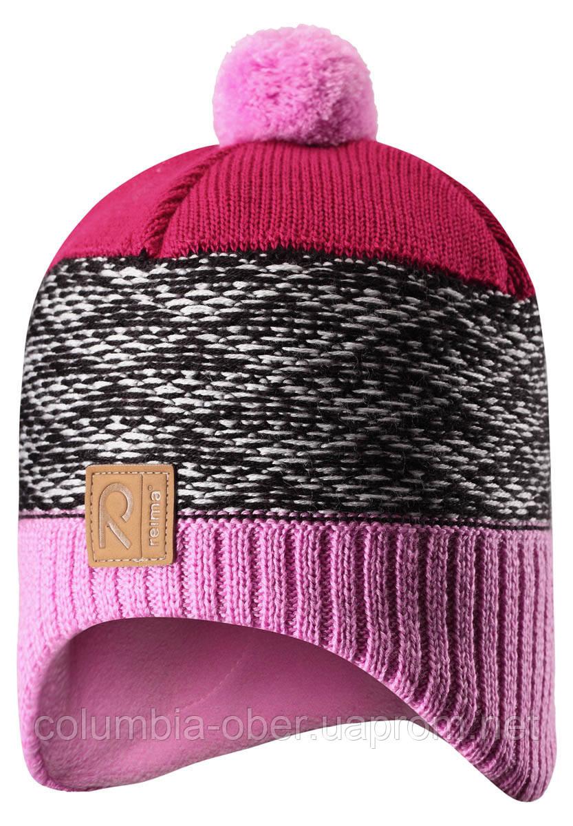 Зимняя шапка для девочки Reima Tuli 528561-4190. Размеры 50-56., фото 1