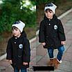Парка весенняя детская с капюшоном 3,4,5,6 лет, фото 3