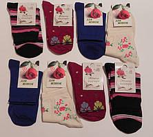 Носки женские стрейчевые с рисунком ТМ Прилуки