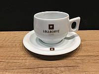 Чашка с блюдцем капучино фарфорLollo Caffe 150 мл., фото 1