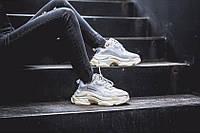 Женские кроссовки Balenciaga Triple-S White