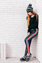 """Стеганые женские спортивные штаны """"Trust"""" с карманами, фото 2"""
