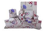 Салфетка в хлебницу, Лаванда Сердце,  размер 35х35 см, Оригинальные подарки, Домашний текстиль текстиль, фото 2