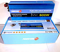 Инвертор с чистой синусоидой POWERONE Pure Sine Inverter-600W
