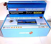 Инвертор с чистой синусоидой POWERONE Pure Sine Inverter-600W, фото 1