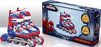 Роликові ковзани Disney Marvel Spider Man M (35-38) з металевою рамою RS0110
