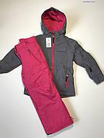 Детский зимний лыжный костюм Bloem на девочку 5-6 лет рост 116