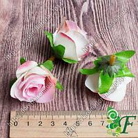Головка розы Кордес розовой за 12 шт