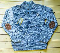 Вязаный свитер  на мальчика на 9-13 лет