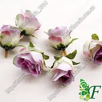 Головка розы Кордес винтаж фиолетовая за 12 шт