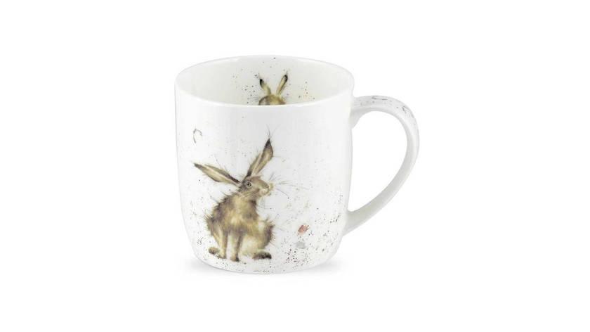 Фарфоровая кружка 310 мл «Хороший день для кролика», фото 2