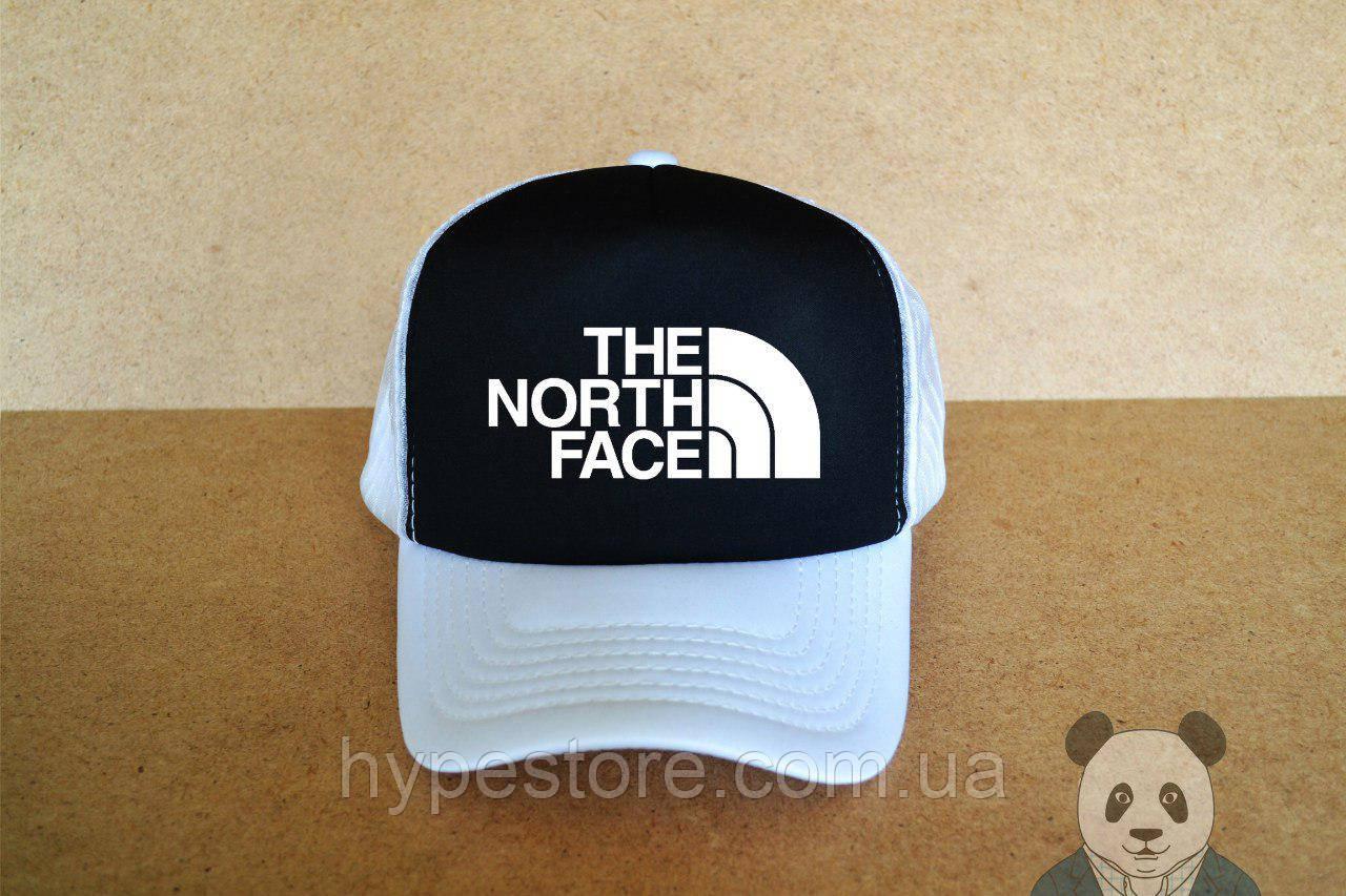 Кепка, бейсболка The North Face (черно-белый), Реплика