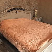 Покрывало одеяло меховое с большим ворсом 200х230