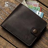 Кожаный мужской кошелек TYP Darabond коричневый