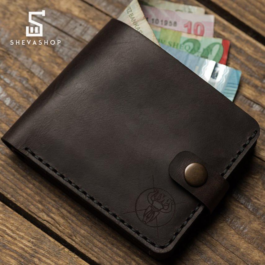 25423fa92ea8 Кожаный мужской кошелек TYP Darabond коричневый