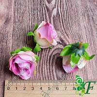 Головка розы Кордес сиреневая за 12 шт