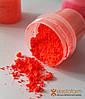 Пигмент для силикона порошковый, мелкодисперсный. Цвет-красный коралл